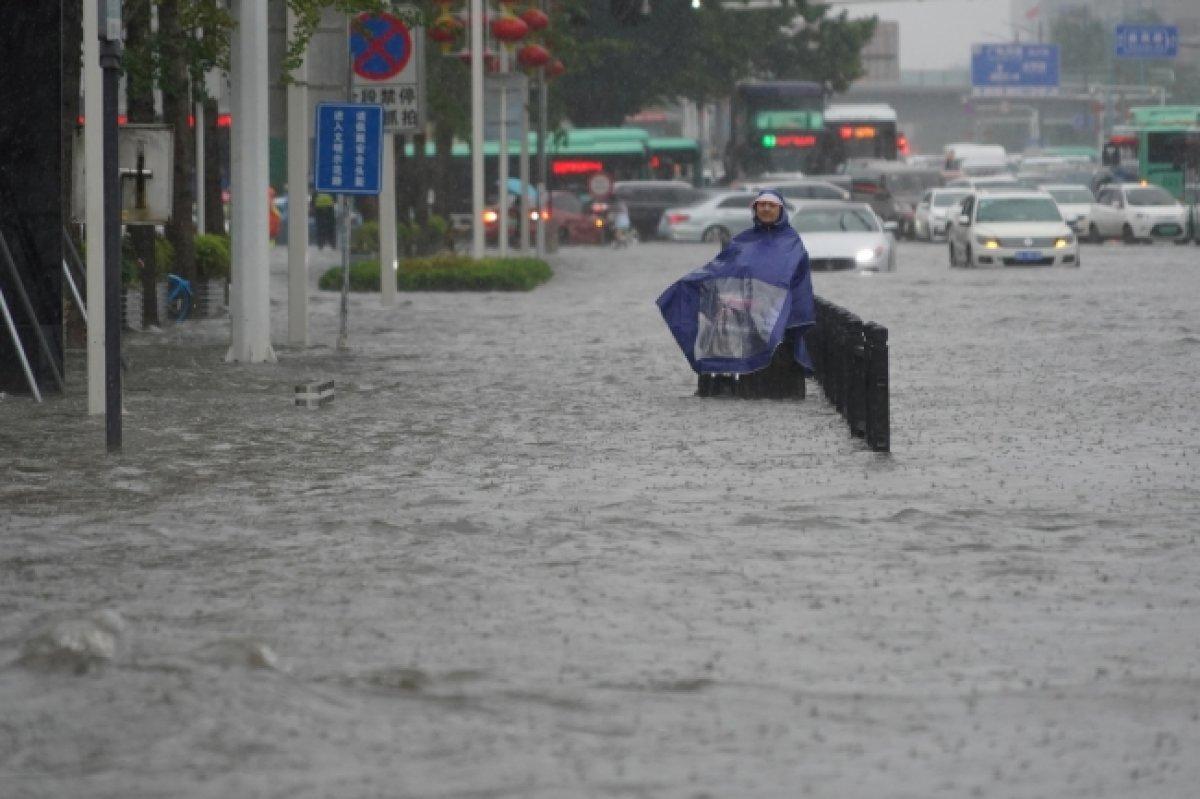 Çin'de sel felaketi: Bütün eyalet su altında kaldı! En 12 kişi hayatını kaybetti!