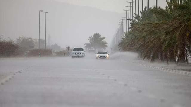 Aşırı sıcaklardan muzdarip Dubai'de bulutlara elektrik verildi, yapay yağmur yağdırıldı!