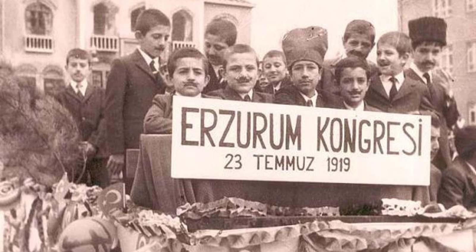 Erzurum Kongresi alınan kararlar   Erzurum Kongresi görselleri, fotoğrafları  Erzurum Kongresi Atatürk sözleri