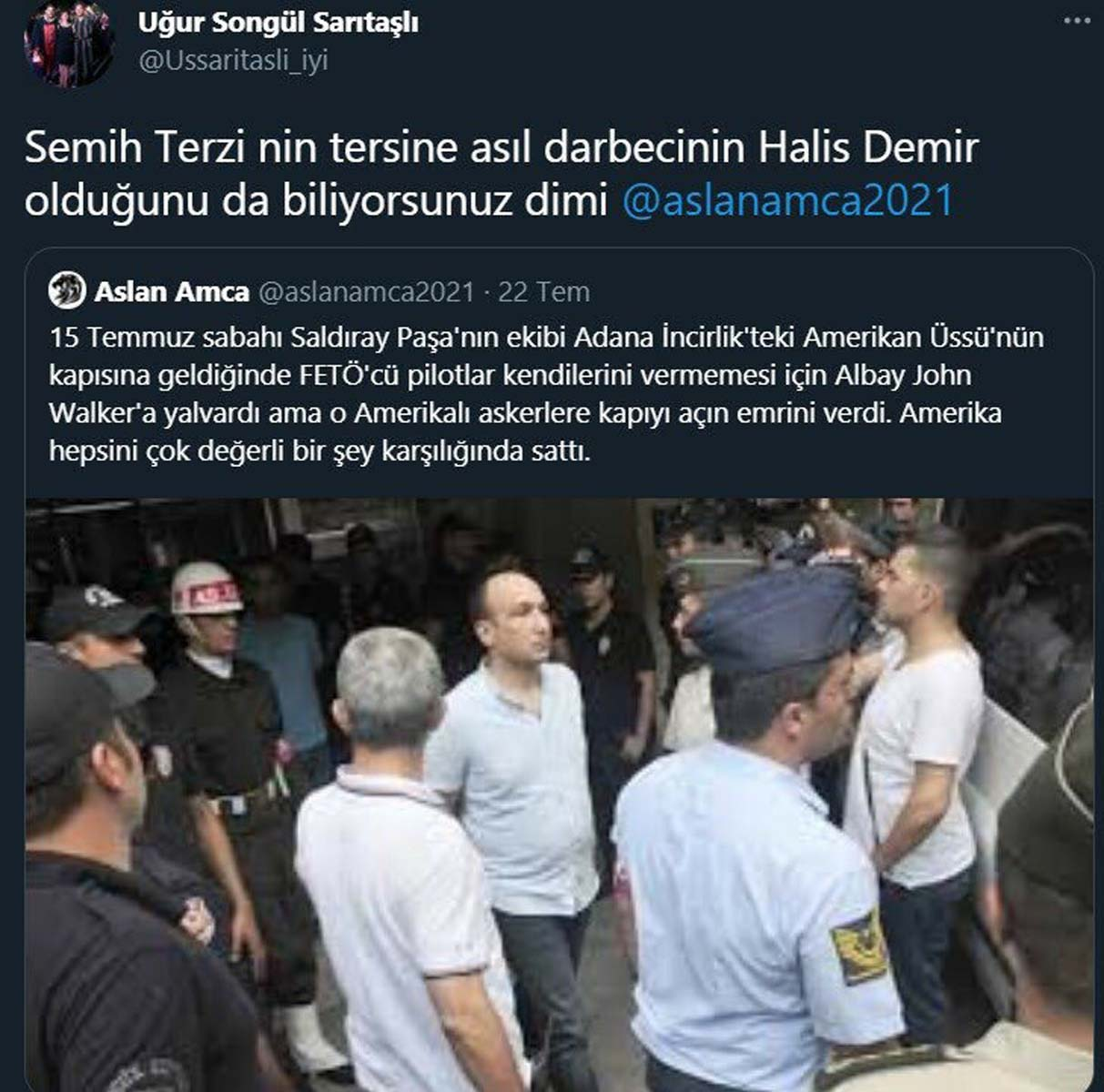 Ömer Halisdemir için darbeci diyen İYİ Partili Uğur Songül Sarıtaşlı partisinden istifa etti! Başsavcılık jet hızıyla harekete geçti