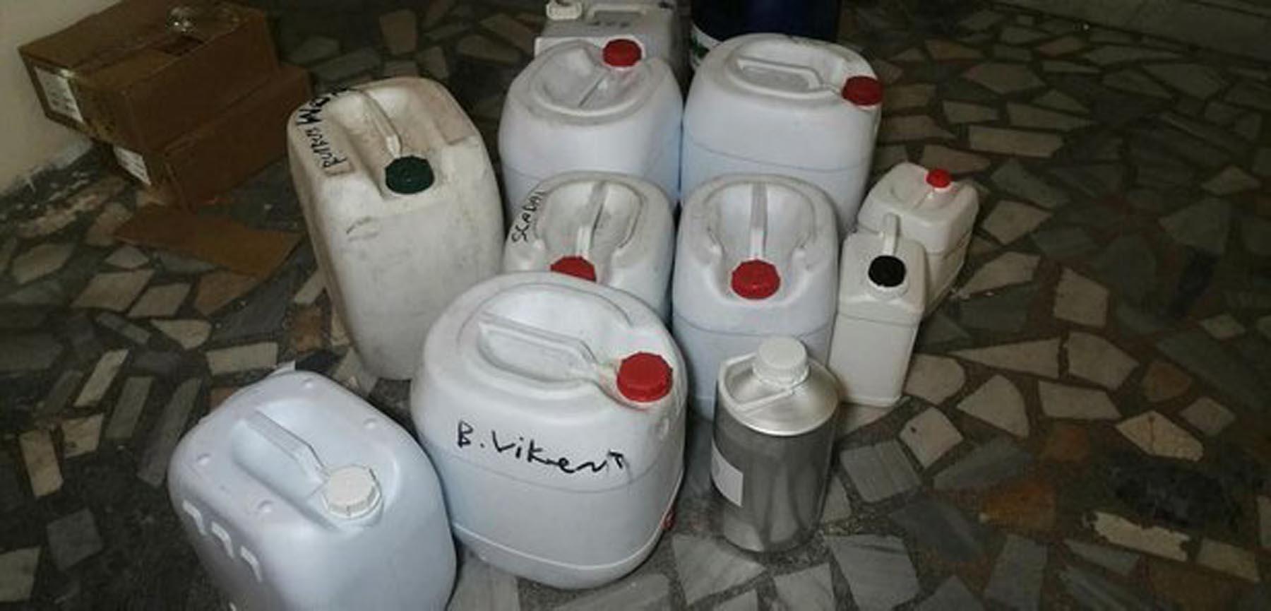 Bağcılar'da sahte parfüm baskını, 20 bin şişe parfüm ele geçirildi