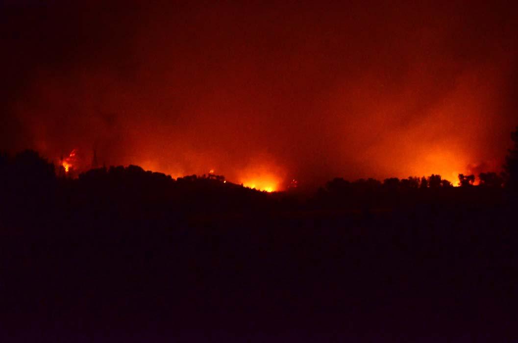 Antalya'da bir orman yangını daha! Akseki alevlere teslim oldu