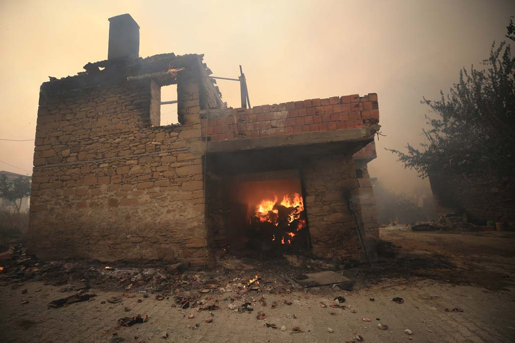 Manavgat'taki yangından ilk acı haber geldi! Bakan Pakdemirli duyurdu