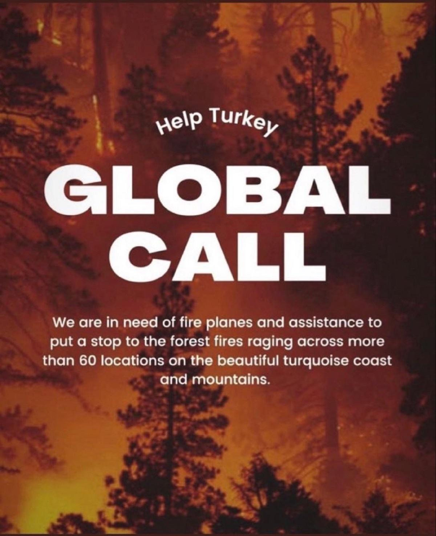 Help Turkey ne demek? | Help Turkey paylaşımlarının nedeni ne? | Global Call nedir?