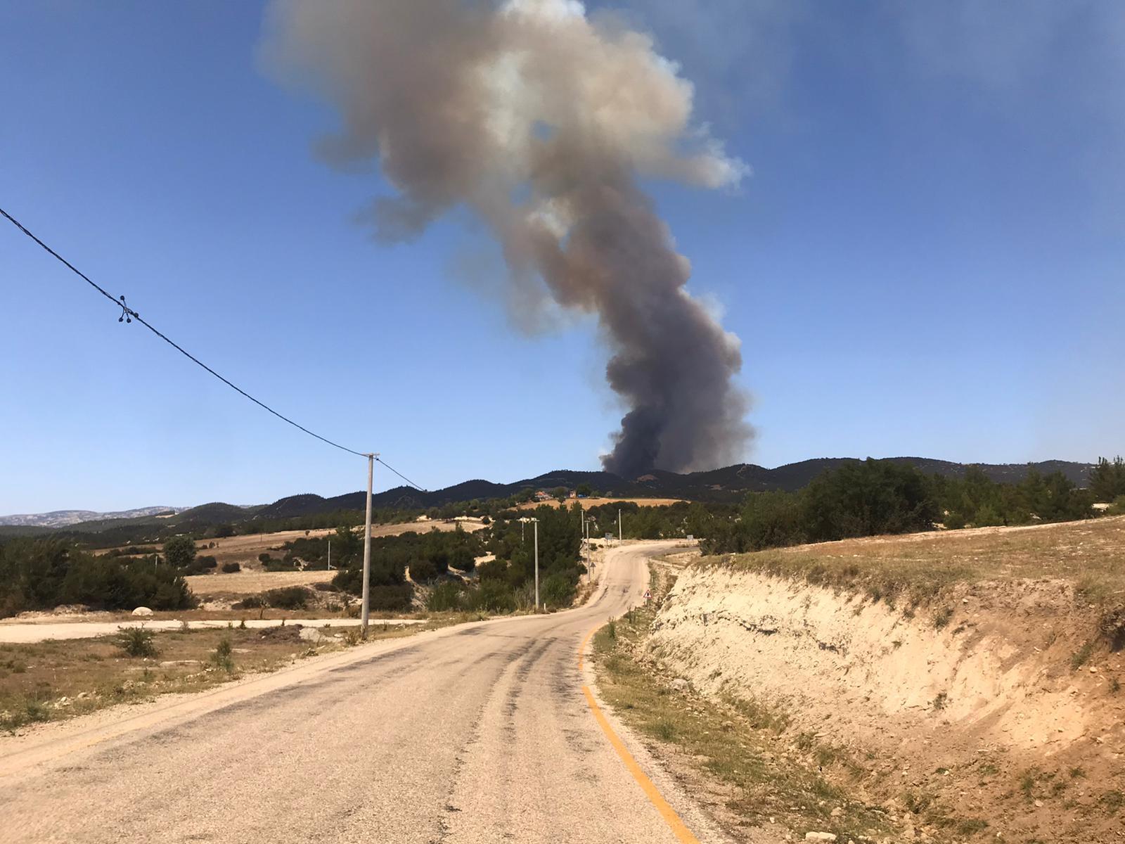 Son dakika   Kabus bitmiyor! Denizli'nin Buldan ilçesinde orman yangını çıktı