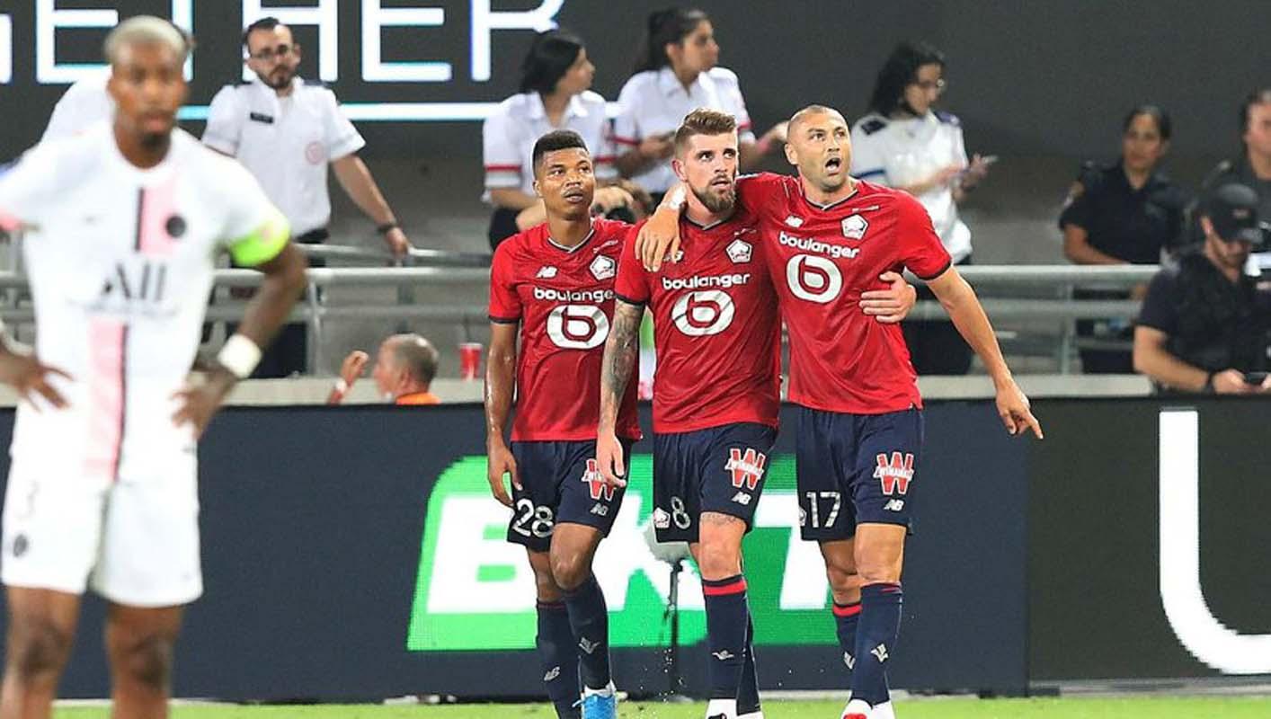 Burak Yılmaz finalde PSG'yi de boş geçmedi! Lille tarihinde bir ilki yaşattı