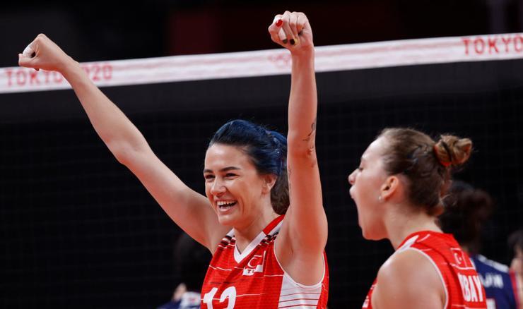 SON DAKİKA  A Milli Kadın Voleybol Takımı Tokyo Olimpiyatlarına veda etti!