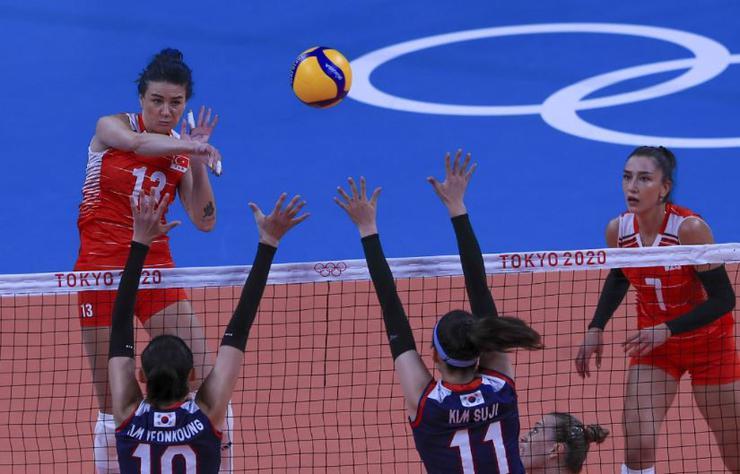 SOM DAKİKA  A Milli Kadın Voleybol Takımı Tokyo Olimpiyatlarına veda etti!