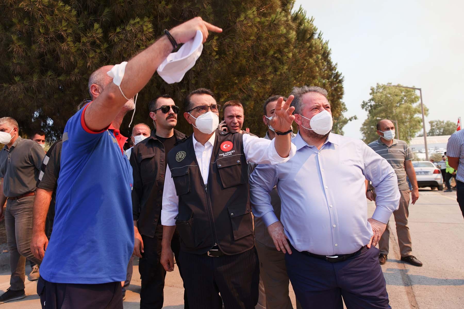 Son dakika   Bakan Dönmez, Kemerköy Termik Santrali'nin son durumunu açıkladı!