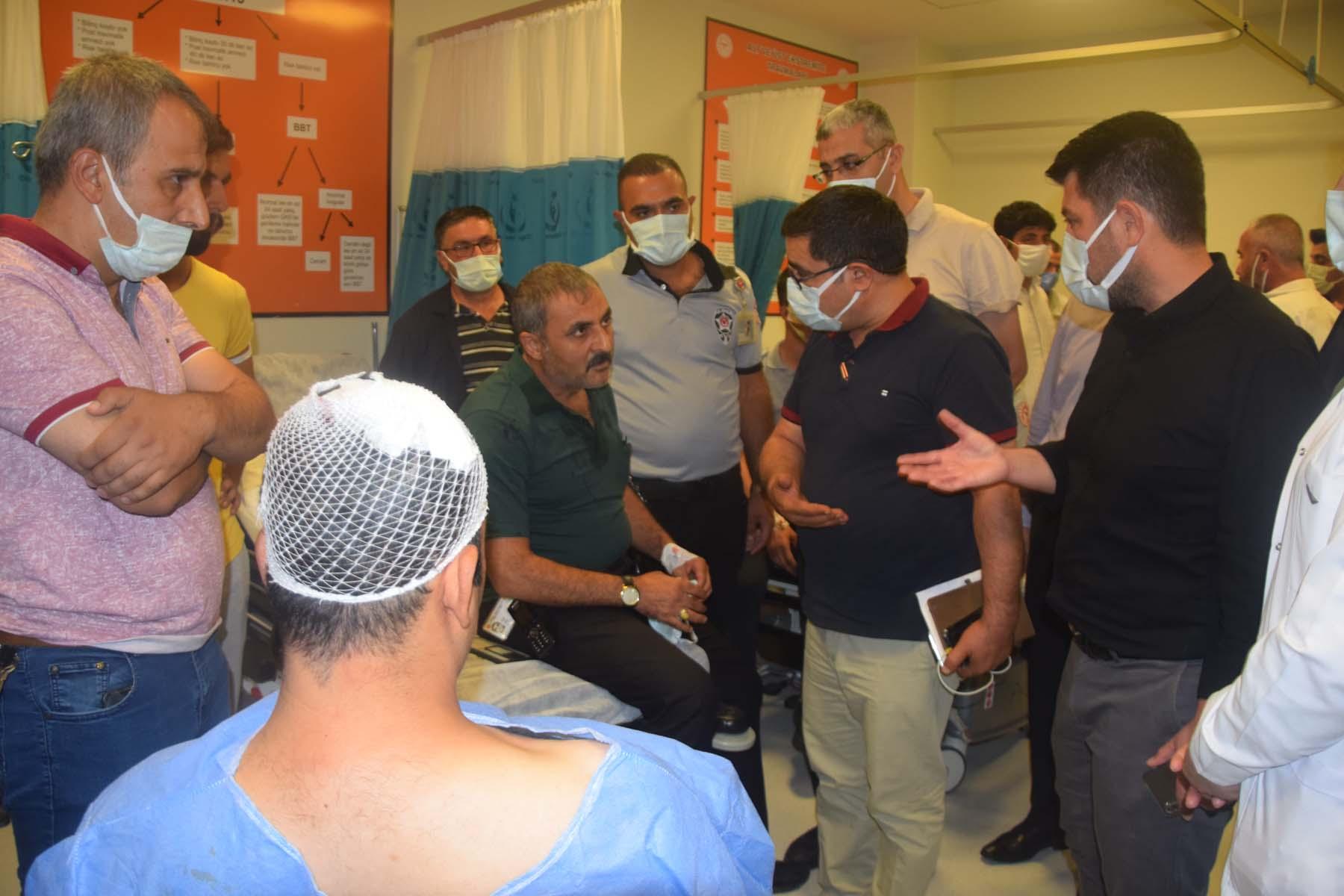 Şanlıurfa maske takmayan hasta yakınları, hastane çalışanlarını darp etti: 9 yaralı