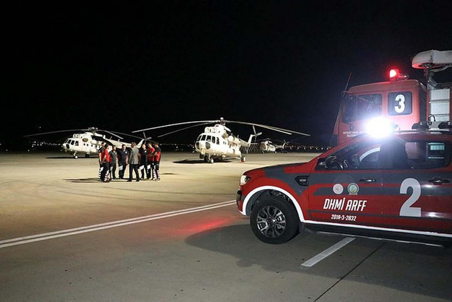 Ukrayna'dan Türkiye'ye tam destek! Uçak ve helikopterler gönderildi!