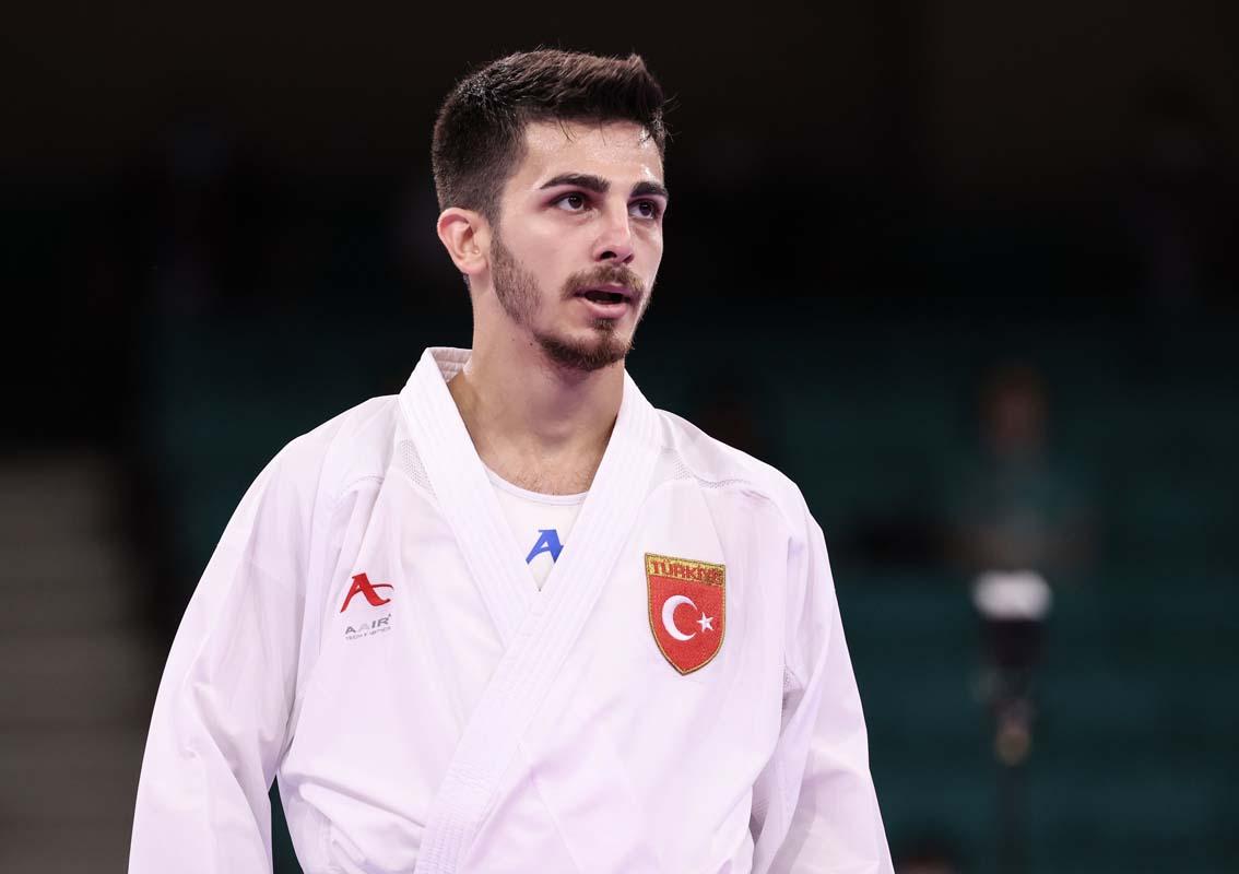 Milli karatecimiz Eray Şamdan Olimpiyatlar'dan gümüş madalya ile dönüyor