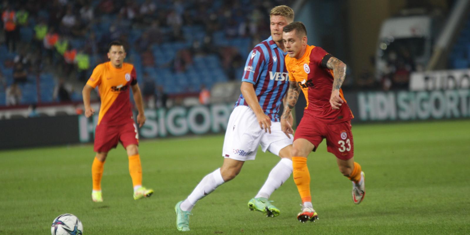 Trabzonspor 2 - 2 Galatasaray | MAÇ SONUCU