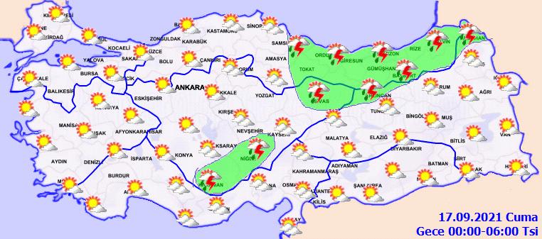 Meteoroloji sağanak yağış için uyardı! Yurt genelinde etkili olacak
