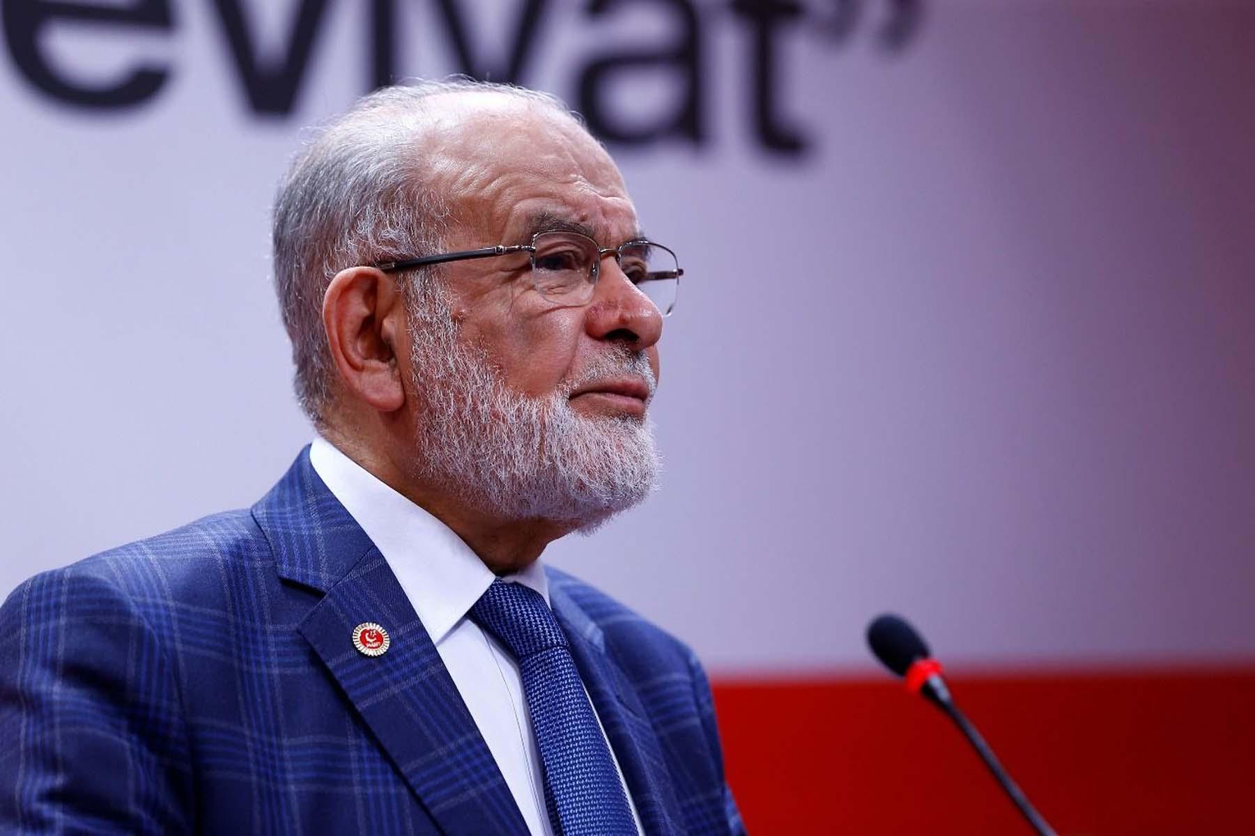 """Saadet Partisi Genel Başkanı Temel Karamollaoğlu'ndan ittifak açıklaması: ''Yanlışlarından dönerlerse AK Parti ile ittifak yapabilirim"""""""