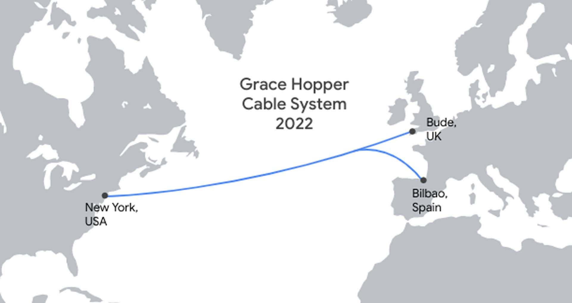 Google fiber optik kablolarla kıtaları birbirine bağlıyor