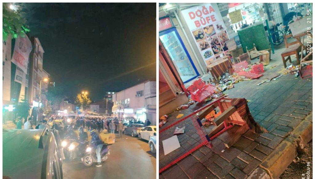 Esenyalı'da korkutan olay! Mahalle tarandı, insanlar sokağa döküldü!