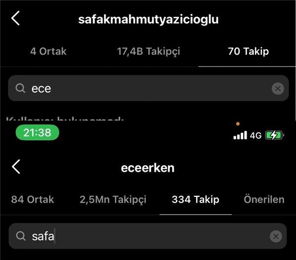 Geçtiğimiz aylarda evlenmişlerdi! Ece Erken ile Şafak Mahmutyazıcıoğlu'nun evliliğindeki sorun sosyal medyaya yansıdı! Boşanıyorlar mı?