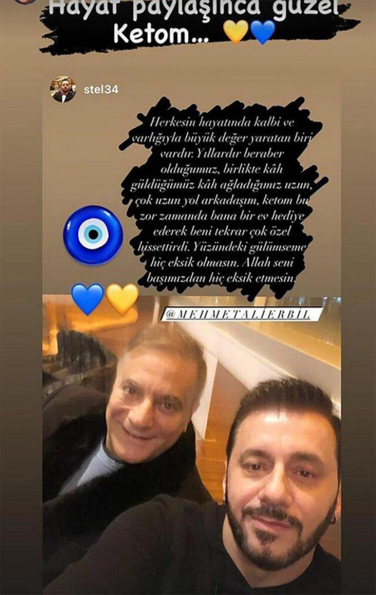 Ünlü şovmen Mehmet Ali Erbil'den menajeri Stelyo Pipis'e büyük jest!l Hediyesi çok konuşuldu!
