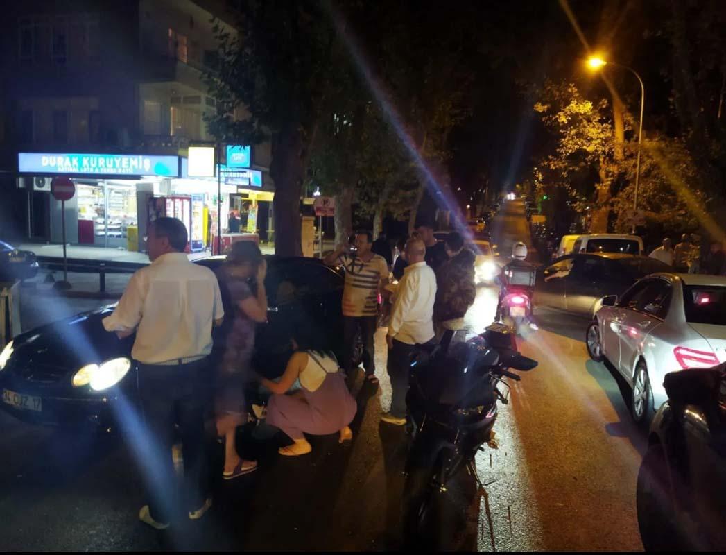 Sosyal medya fenomeninden korkutan kaza! Aleyna Yaren motosikletten fırlayıp yola savruldu!