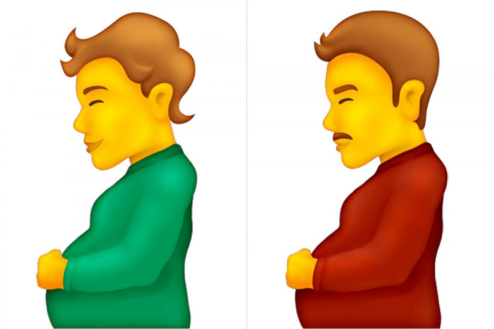 Unicode Konsorsiyumu yeni çıkaracağı emojisinin hamile erkek olduğunu duyurdu