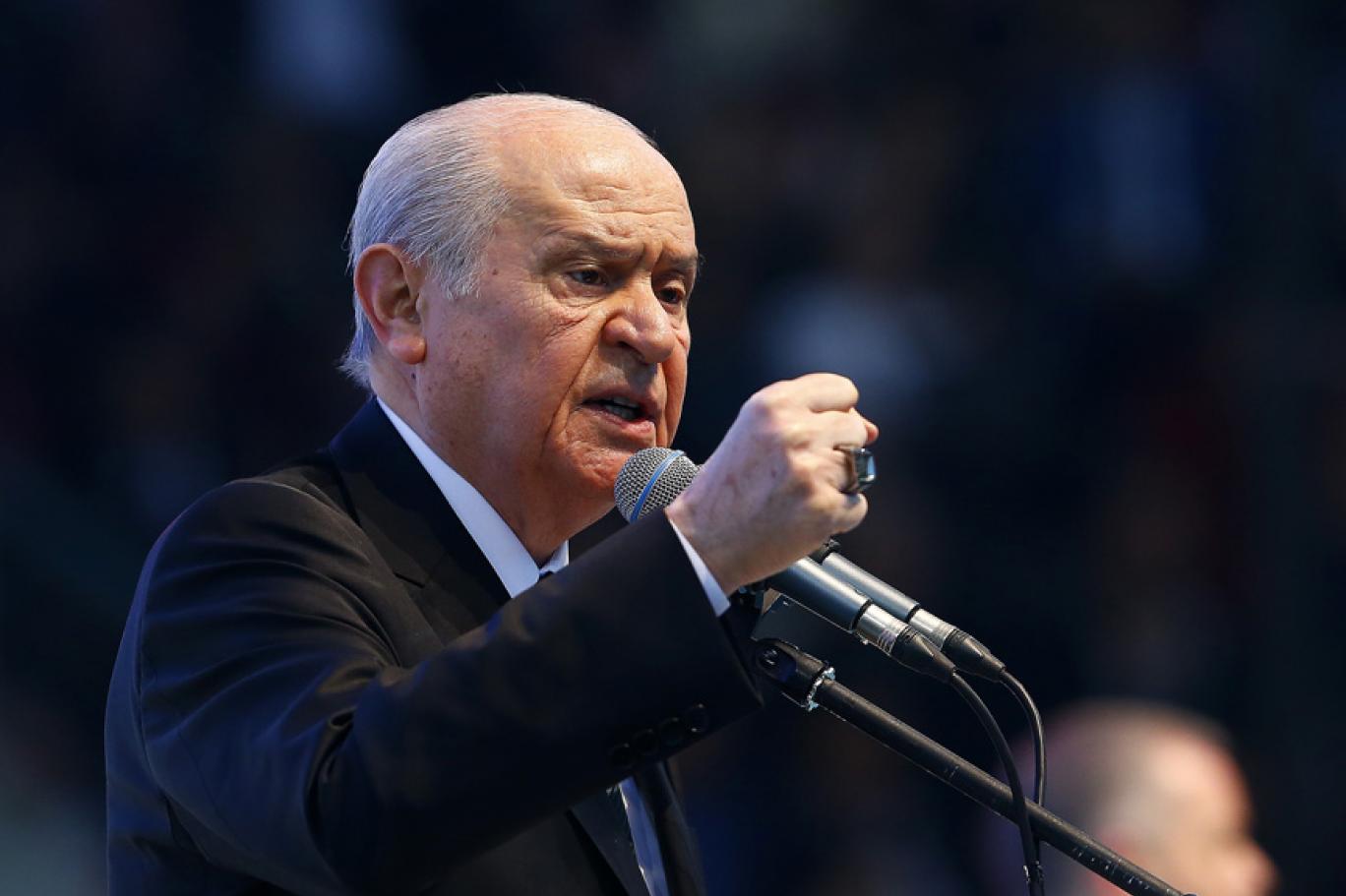 Devlet Bahçeli, Türkiye'de Kürt sorunu diye bir sorun yoktur dedi, Kılıçdaroğlu'nu ve Ünal Çeviköz'ü o sözlerle bombaladı