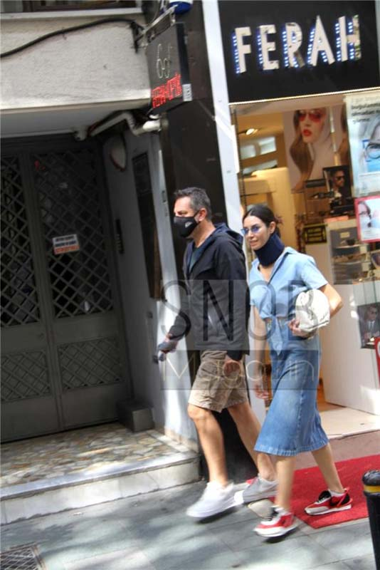 Kardeşlerim'in Suzan'ı Ahu Yağtu, meslektaşı Hande Subaşı'nın eski eşi Can Tursan ile görüntülendi! Kameraları görünce paniklediler!
