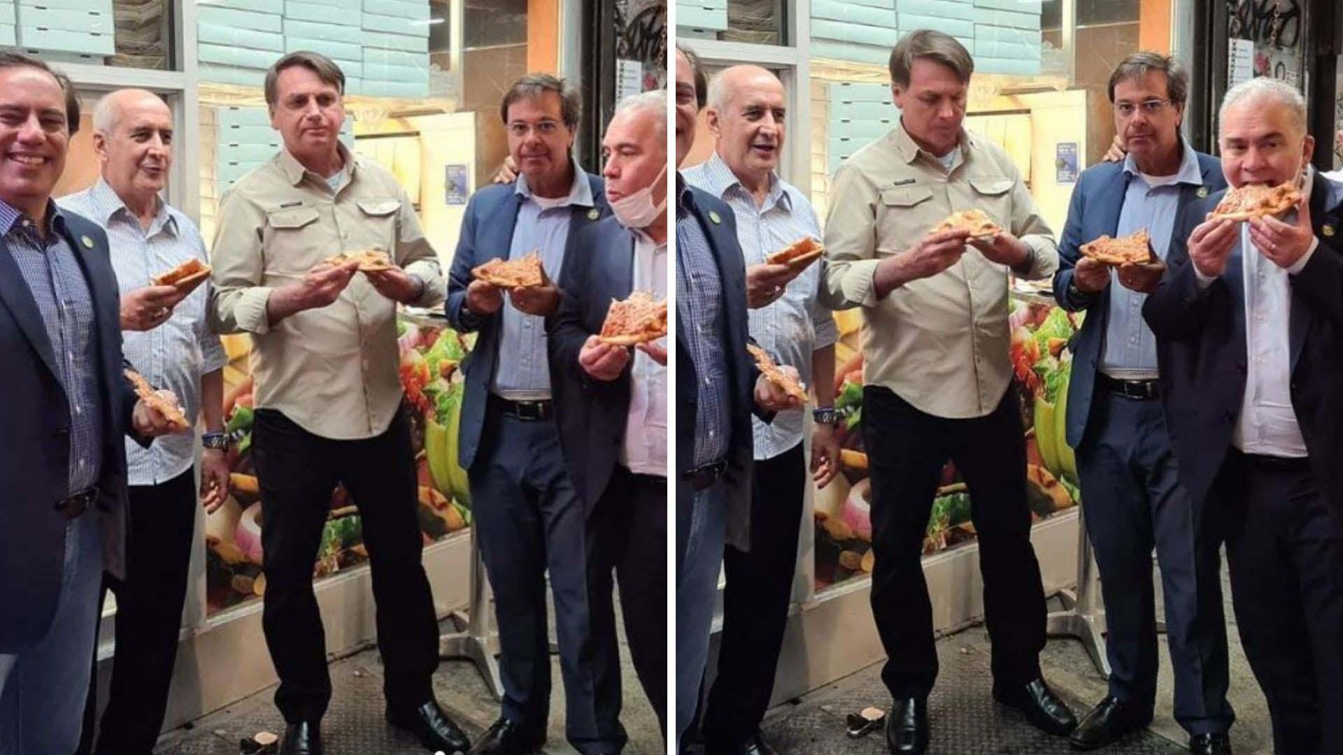 Brezilya Devlet Başkanı Bolsonaro, koronavirüs aşısı olmadığı gerekçesi ile pizzacıya giremedi