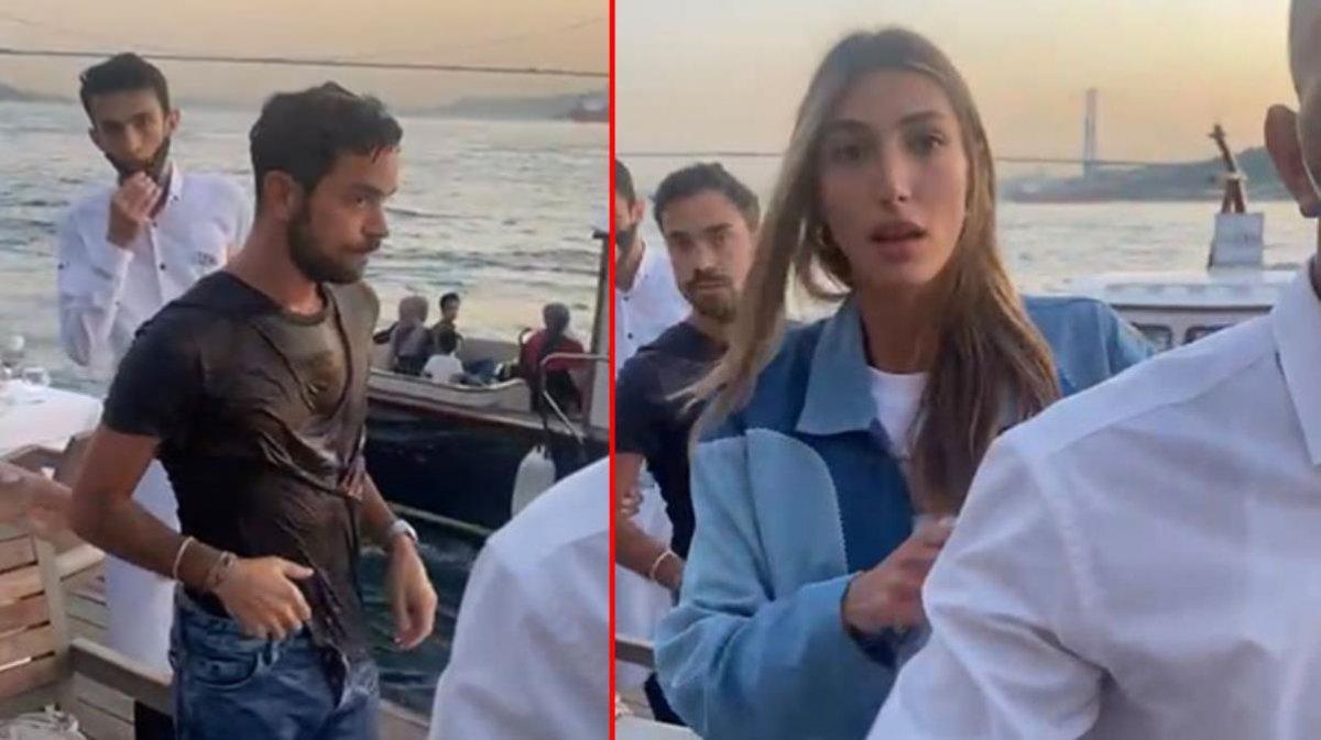 Şevval Şahin ile tatilden dönen Yiğit Marcus Aral saldırıya uğradı! Denize attığı Kerem Kamışlı'nın dövdürdüğünü iddia etti!