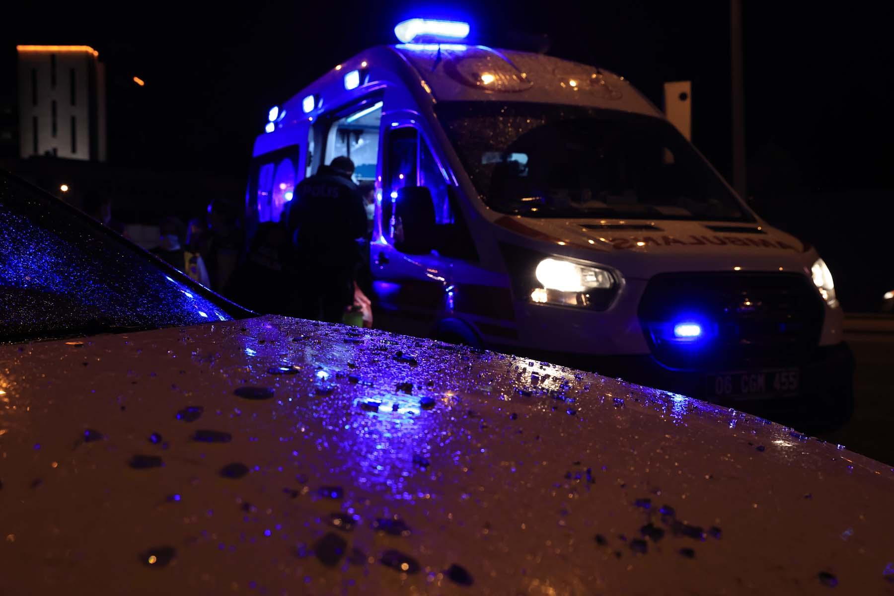 Son dakika: Ankara'da zincirleme trafik kazası! 7 araç karıştı, 2 kişi yaralandı