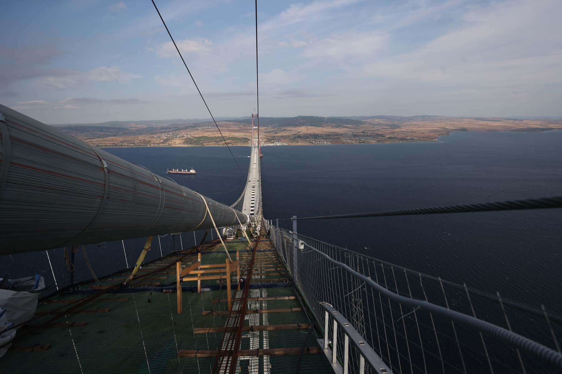 1915 Çanakkale Köprüsü geçiş ücreti ne kadar, kaç TL? 1915 Çanakkale köprüsü nerede, kaç metre?