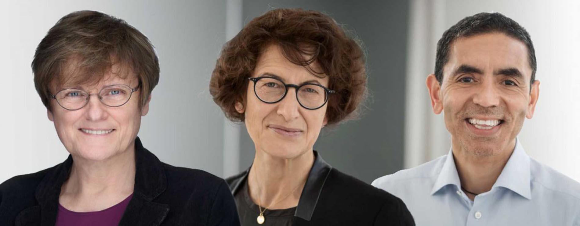 Özlem Türeci ve Uğur Şahin Almanya'nın en büyük tıp ödülü ile onurlandırıldı