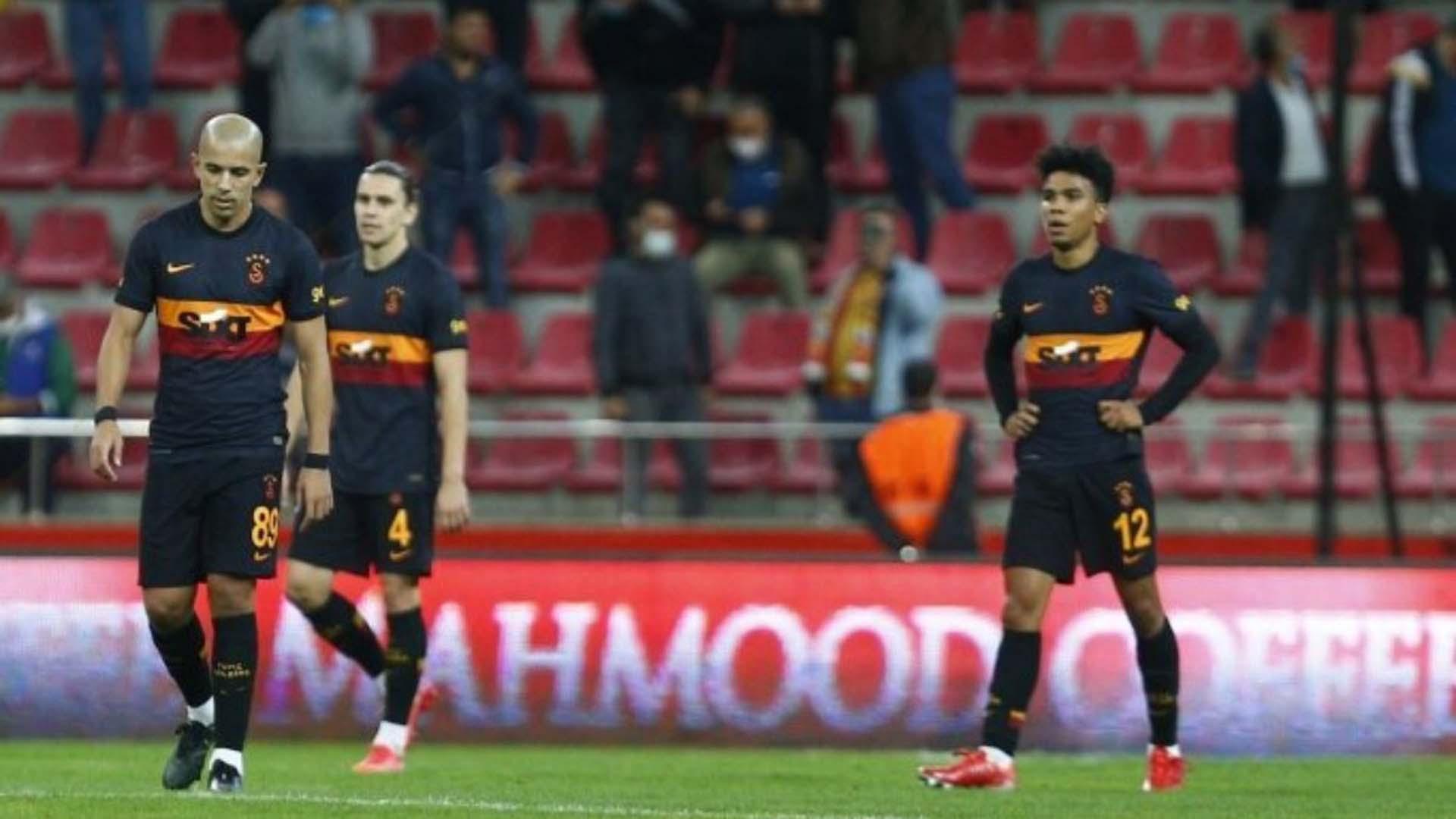 Assuncao Galatasaray'da ilk maçına çıktı! Buruk bir başlangıç oldu