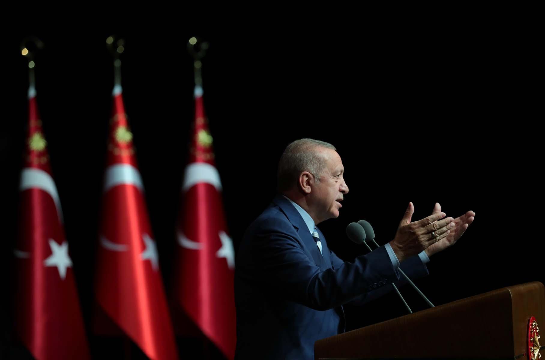 Cumhurbaşkanı Erdoğan, 24. Dönem Adli Yargı Hakim ve Cumhuriyet Savcıları Kura Töreni'nde konuştu: Sulh komisyonları 81 ilde devreye alınacak