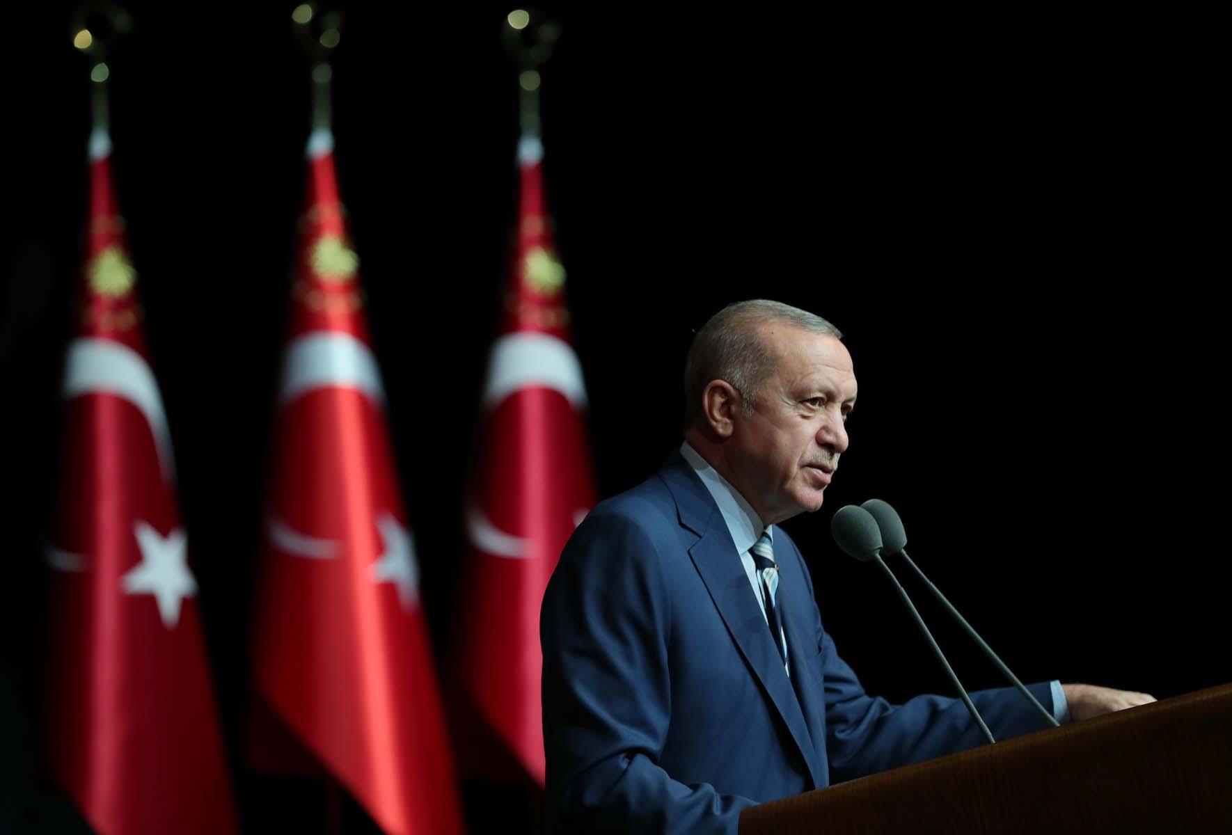 Son dakika | Cumhurbaşkanı Erdoğan'dan Küresel Koronavirüs Zirvesi'ne videolu mesaj: Aşı adaylarımızı insanlığın kullanımına sunmayı taahhüt ediyoruz