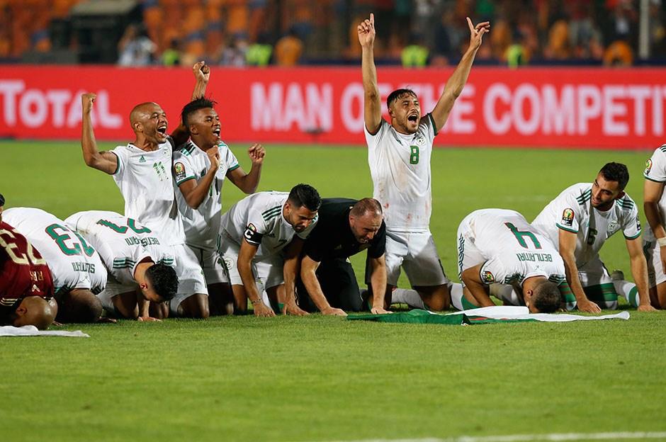 Senegal Cezayir maç sonucu   Senegal Cezayir maç özeti video
