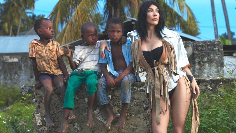 Hande Yener: Afrikalı küçük kalplerden çok şey öğrendim