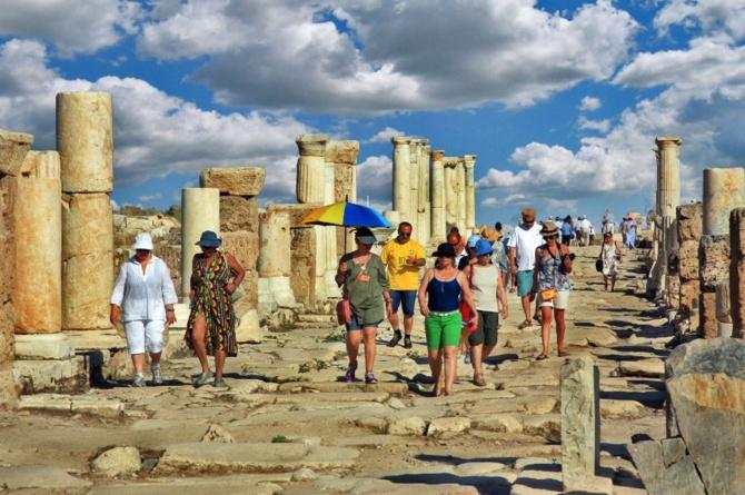 Türkiye'ye gelen yabancı turist oranında Almanlar 1. oldu