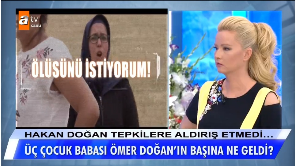 Zabıt katibi Ömer Doğan, Müge Anlı'nın programında aranıyor