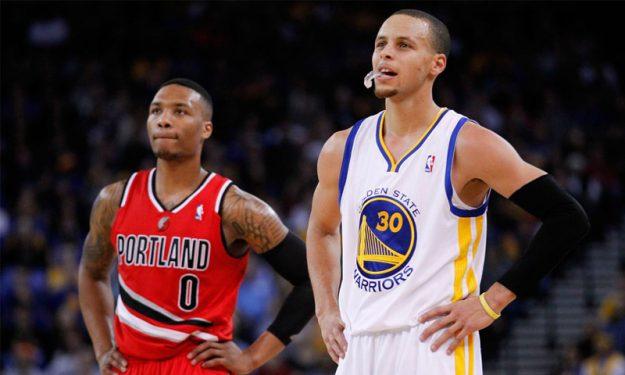 NBA'de Golden State Warriors ile Portland Trail Blazers karşı karşıya!