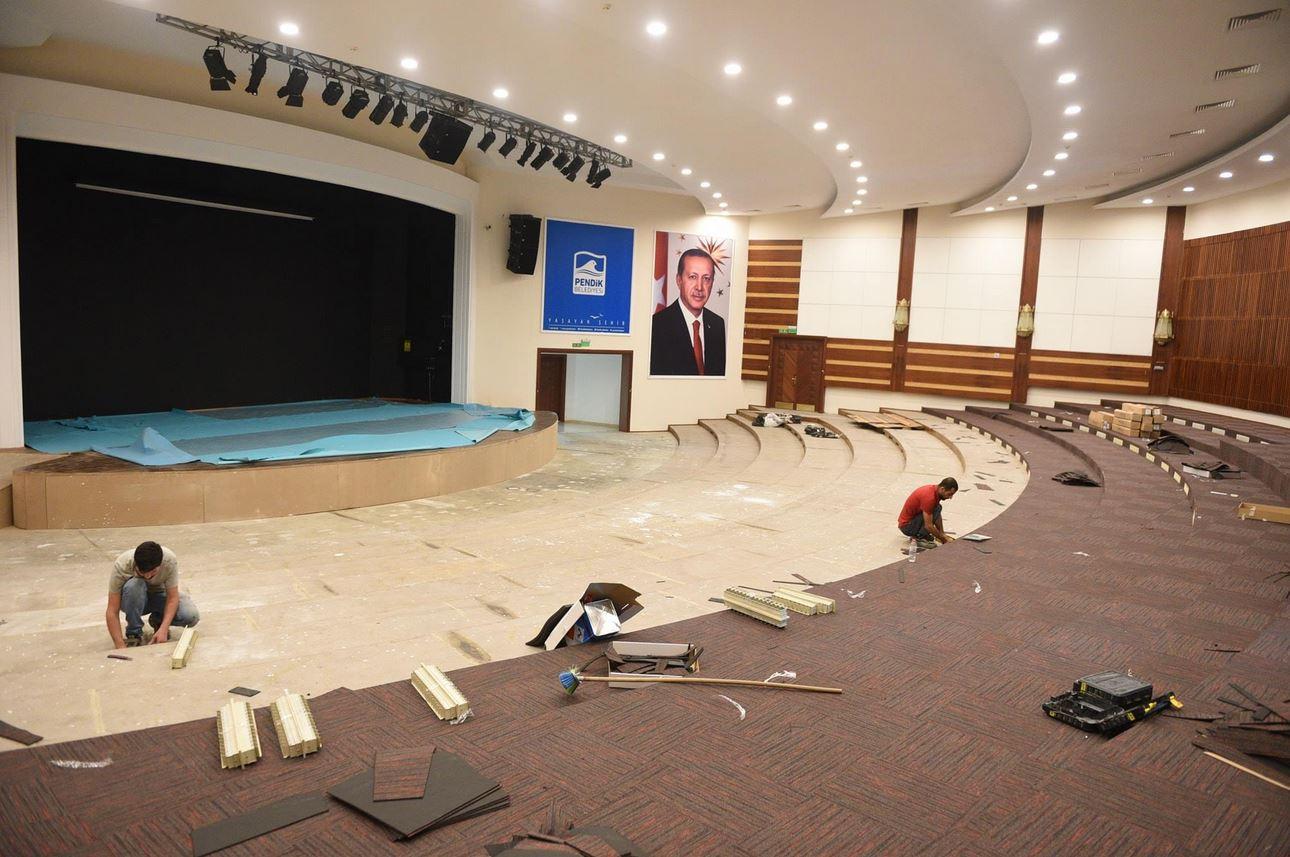 Pendik Yunus Emre Kültür ve Sanat Merkezi yeni sezona yenilenmiş girecek