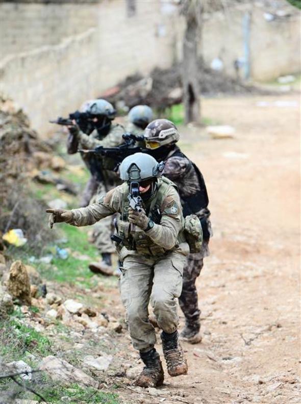 Meskül Mahal Operasyonu Başladı! Özel Güçler Afrin'de