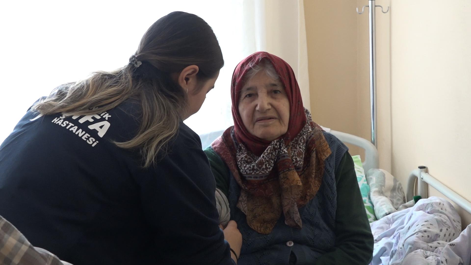 Pendik Belediyesi'nden hastalara şifa ziyareti