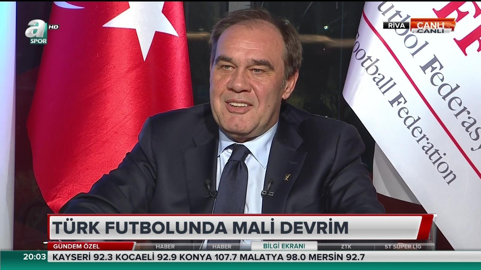 Futbol kulüplerinin borçları silinecek mi? Canlı yayında açıkladılar