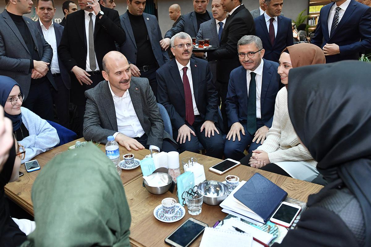İçişleri Bakanı Süleyman Soylu'dan Üsküdar'a ziyaret