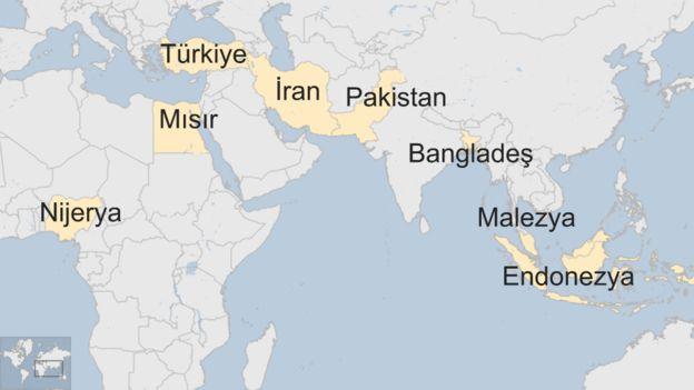 D8 ülkeleri