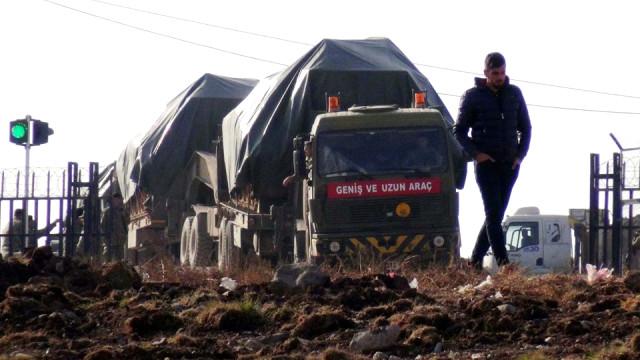 Sınırda Afrin İçin Tatbikat Yapıldı | Komandolar Sınırda