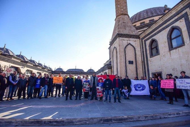 Kamu-Sen'den 'Kudüs' protestosu
