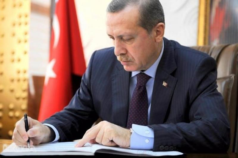 Cumhurbaşkanlığı Kararnamesi,Cumhurbaşkanı onayı ile Resmi Gazete'de yayımlandı