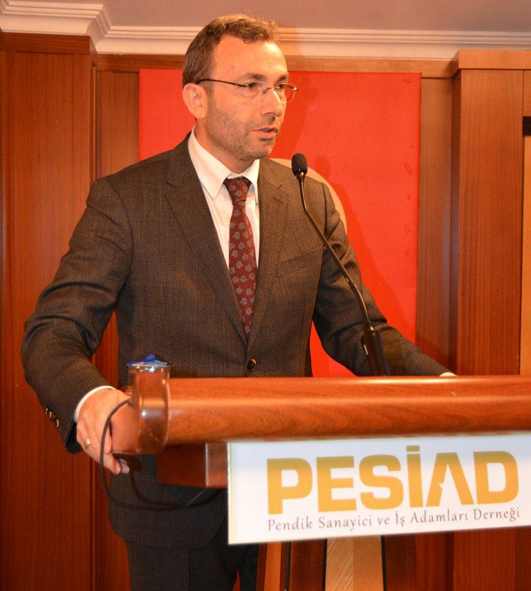 PESİAD Pendik belediye başkan adaylarını iş dünyası ile bir araya getirdi